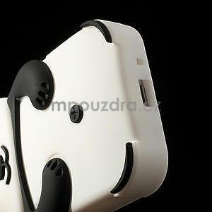 3D Silikonové puzdro pre Samsung Galaxy S3 mini / i8190 - vzor čierná panda - 6