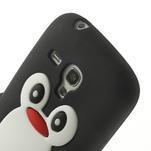 Silikonový tučniak puzdro pre Samsung Galaxy S3 mini i8190- čierny - 6/7