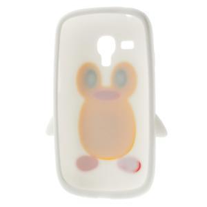 Silikonový TUČŃÁK puzdro na Samsung Galaxy S3 mini i8190- biely - 6