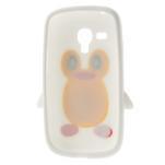 Silikonový TUČŃÁK puzdro na Samsung Galaxy S3 mini i8190- biely - 6/7