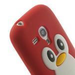 Silikonový TUČŃÁK puzdro na Samsung Galaxy S3 mini i8190- červený - 6/7