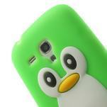 Silikonový TUČŃÁK puzdro na Samsung Galaxy S3 mini i8190- zelený - 6/7