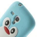 Silikonový TUČŃÁK puzdro na Samsung Galaxy S3 mini i8190- světlemodrý - 6/7