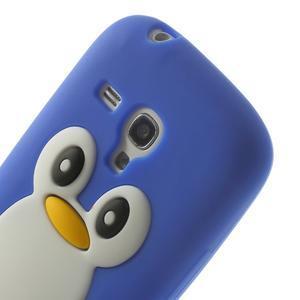 Silikonový tučniak puzdro pre Samsung Galaxy S3 mini i8190- modrý - 6