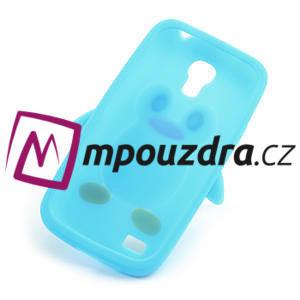 Silikon 3D TUČŇÁK pro Samsung Galaxy S4 mini i9190- svetlomodrý - 6