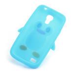 Silikon 3D TUČŇÁK pro Samsung Galaxy S4 mini i9190- svetlomodrý - 6/6
