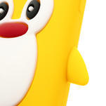 Silikonový Tučňák pouzdro pro Samsung Galaxy S4 i9500- žlutý - 6/7