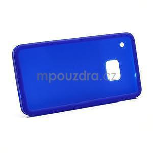 Silikonové puzdro pre HTC one M7- modré - 6