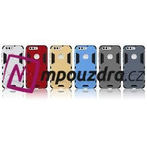 Outdoor odolný obal na mobil Honor 8 - stříbrný - 6