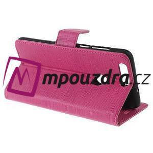 Clothy peněženkové puzdro na mobil Honor 8 - rose - 6