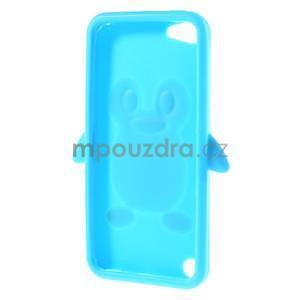 Penguin silikónový obal na iPod Touch 6 / iPod Touch 5 - svetlomodrý - 6