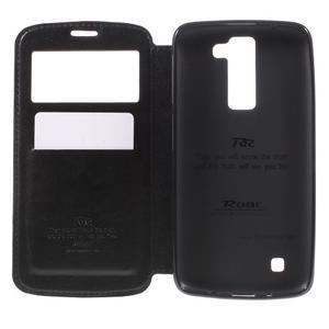 Richi PU kožené puzdro pre mobil LG K8 - čierne - 6