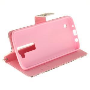 Style PU kožené puzdro pre LG K8 - mandala I - 6