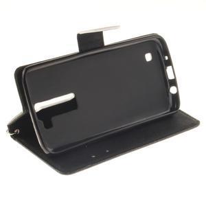 Style PU kožené puzdro pre LG K8 - nesiaha - 6