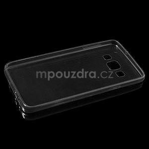 Slim obal na Samsung Galaxy A3 - šedé - 6