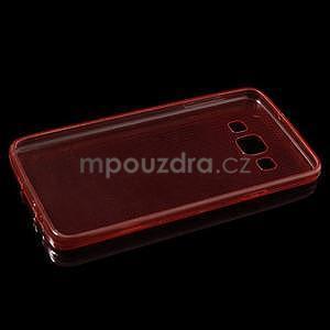 Slim obal na Samsung Galaxy A3 - červené - 6