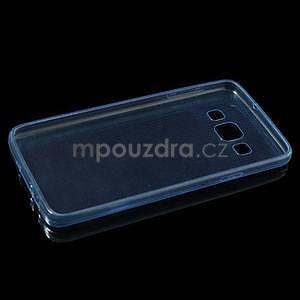 Slim obal pre Samsung Galaxy A3    - svetlo modré - 6