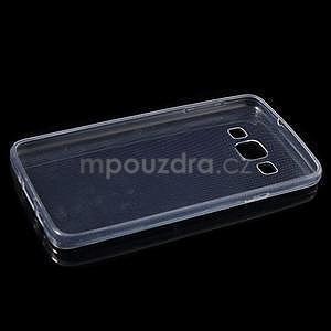 Slim obal pre Samsung Galaxy A3 - transparentný - 6