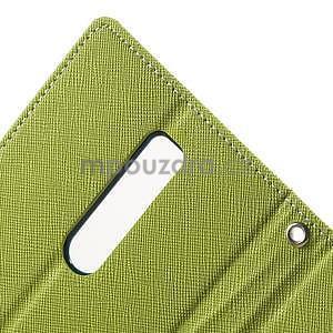 Zapínacie PU kožené puzdro na Asus Zenfone 2 ZE551ML - zelené - 6