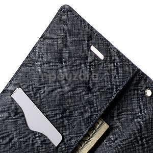 Zapínacie PU kožené puzdro na Asus Zenfone 2 ZE551ML -  fialové - 6