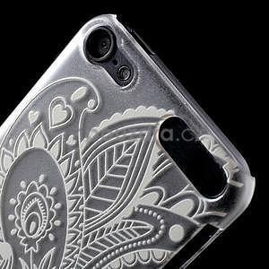 Plastový obal pre iPod Touch 5 - kvet - 6