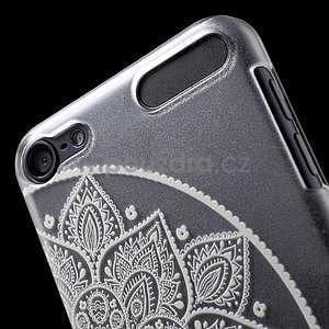 Plastový obal pre iPod Touch 5 - polkruh mandala - 6