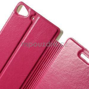 Peňaženkové puzdro Lenovo Vibe X2 - rose - 6