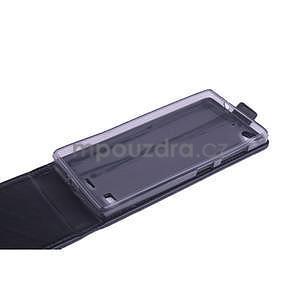 Flipové puzdro na mobil Lenovo Vibe X2 - čierné - 6