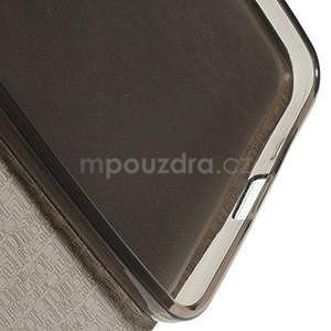 Tmavomodré klopové puzdro pre Microsoft Lumia 640 XL - 6