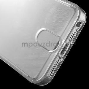 Ultra tenký obal s vreckom pre iPhone 5 a 5s - transparentný - 6
