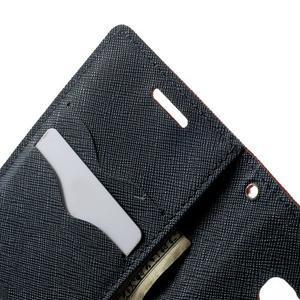 Diary PU kožené puzdro na Samsung Galaxy A3 - červené - 6