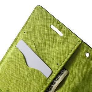 Diary PU kožené puzdro na Samsung Galaxy A3 - tmavomodré - 6