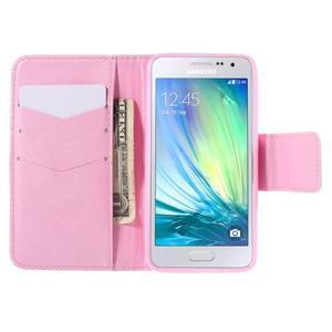 Puzdro na mobil Samsung Galaxy A3 - vtáčik v klitke - 6