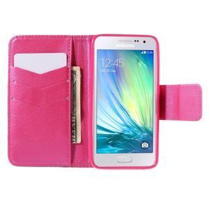 Puzdro pre mobil Samsung Galaxy A3    - červené srdiečko - 6