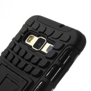Outdoor odolný kryt na mobil Samsung Galaxy A3 - čierny - 6