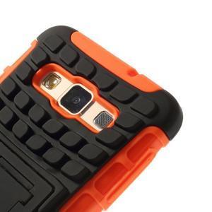 Outdoor odolný kryt pre mobil Samsung Galaxy A3    - oranžový - 6