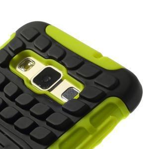 Outdoor odolný kryt na mobil Samsung Galaxy A3 - zelený - 6