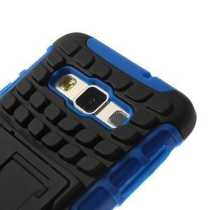 Outdoor odolný kryt na mobil Samsung Galaxy A3 - modrý - 6