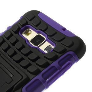 Outdoor odolný kryt na mobil Samsung Galaxy A3 - fialový - 6