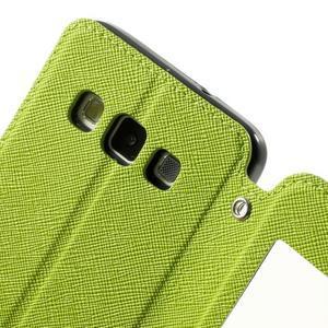 Roar peňaženkové puzdro s okienkom pre Samsung Galaxy A3 - zelené - 6