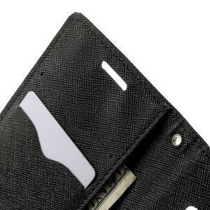 Diary PU kožené puzdro na Samsung Galaxy A3 - čierne - 6