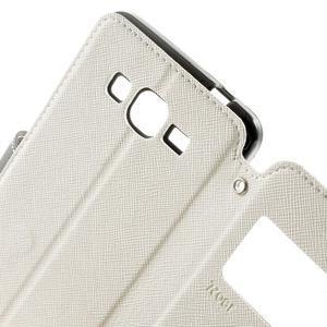 Safety puzdro s okienkom pre Samsung Galaxy Grand Prime - biele - 6