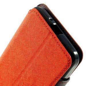 Safety puzdro s okienkom pre Samsung Galaxy Grand Prime - oranžové - 6