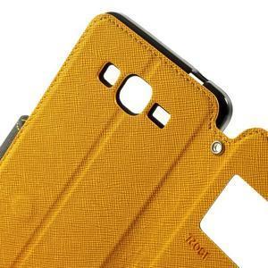 Safety puzdro s okienkom pre Samsung Galaxy Grand Prime - žlté - 6