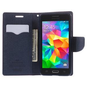 Diary PU kožené puzdro pre mobil Samsung Galaxy Grand Prime - rose - 6