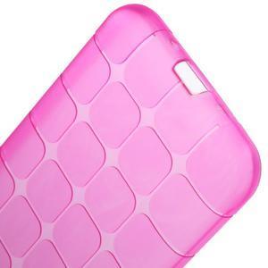 Square matný gélový obal na Samsung Galaxy J5 - rose - 6