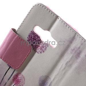 Vzorové peňaženkové puzdro pre Samsung Galaxy Xcover 3 - púpava - 6