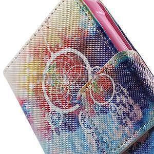 Vzorové peňaženkové puzdro na Samsung Galaxy Xcover 3 - snívanie - 6
