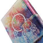 Vzorové peňaženkové puzdro na Samsung Galaxy Xcover 3 - snívanie - 6/7