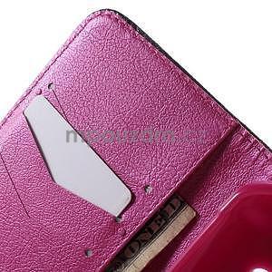 Vzorové peňaženkové puzdro na Samsung Galaxy Xcover 3 - mašlička - 6